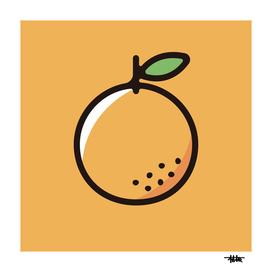 Orange : Minimalistic icon series
