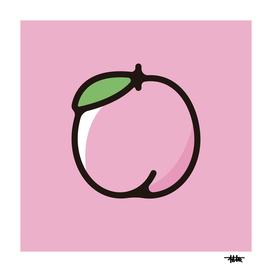Peach : Minimalistic icon series