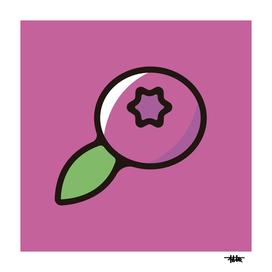 Blueberry : Minimalistic icon series