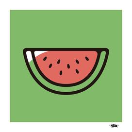 Watermelon : Minimalistic icon series