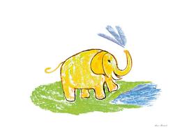 Funny elephant 3