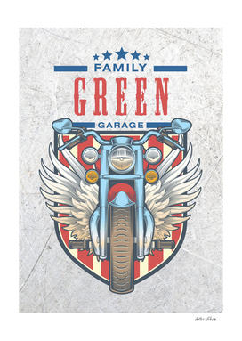 Green Family Garage Motor