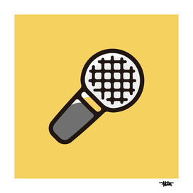 Rapper : Minimalistic icon series