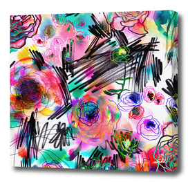 Grafitti flowers