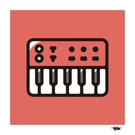 Synthesizer : Minimalistic icon series