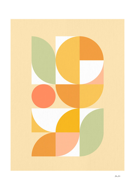 The colours of Summer #geometry #midcenturymodern