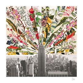Vintage Blooming New York