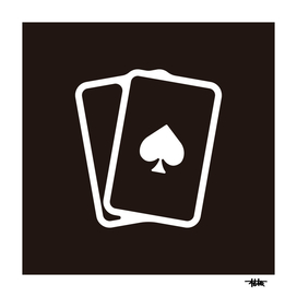 Playing card : Minimalistic icon series