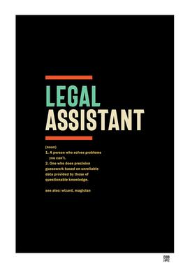 Legal Assistant Definition