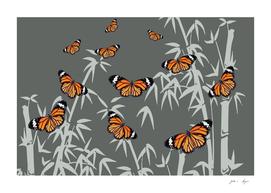 bamboo_butterflies_orange