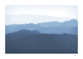 Mist Covered Mountains