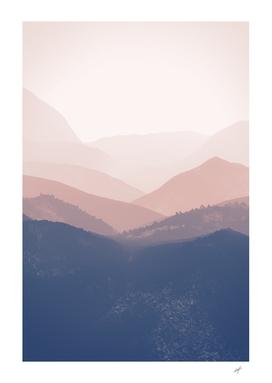 Mist Mountains Landscape