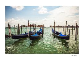 Venice boats.
