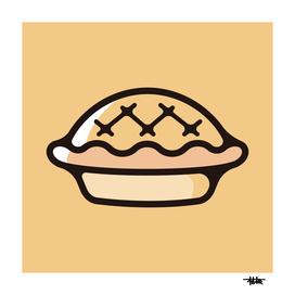Apple pie : Minimalistic icon series