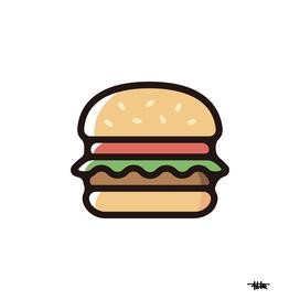 Hamburger : Minimalistic icon series