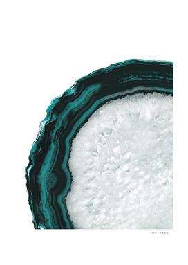 Teal Agate Glam #1 #gem #decor #art