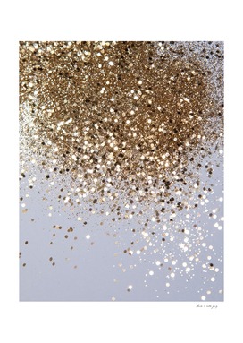 Sparkling Champagne Gold Glitter Glam #1 #shiny #decor #art