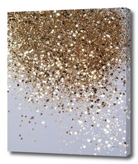 Sparkling Champagne Gold Glitter Glam #1 #shiny #decor #art