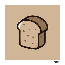 Brown bread : Minimalistic icon series