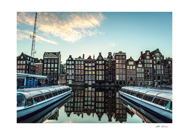 Amsterdam morning.