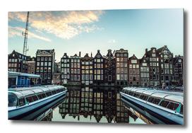 Amsterdam morning.