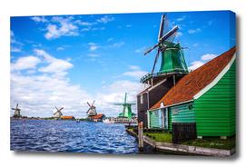 Windmills. (Zaandam).