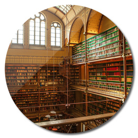 Old library of Rijksmuseum