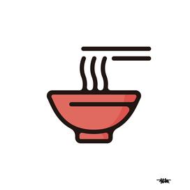 Ramen : Minimalistic icon series