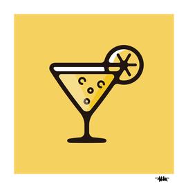 Cocktail : Minimalistic icon series