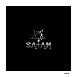 Antichrist quote with pentagram and occult symbol