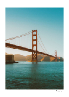 8bit Golden Gate