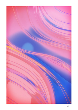 Iridescent Abstraction