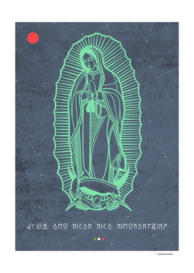 Our Lady of Guadalupe illustration
