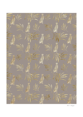 Cheetah Eucalyptus Glam Pattern #8 #tropical #decor #ar