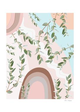 Eucalyptus Rainbow Dream #1 #tropical #wall #art