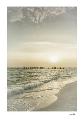 Gasparilla Island Sunset | Vintage