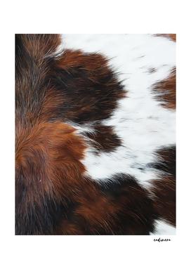 Rustic Cowhide