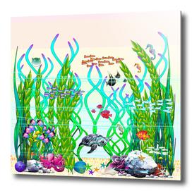 Panorama Underwater Garden