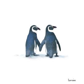 Little Penguin Couple