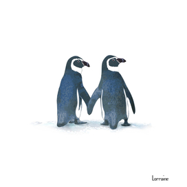 Little Penguin Couple