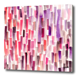Pink brushstrokes