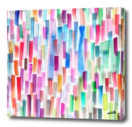 Colorful brushstrokes
