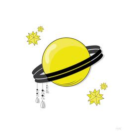 Yellow Saturn
