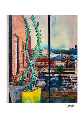 Quarantine Painting, Brooklyn NY