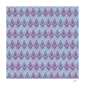 Tile. Purple , pink, and blue.