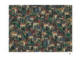 Mosaic Study no. 7 (after Toulouse Lautrec)