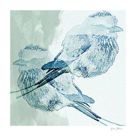 Bird Song Watercolor