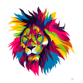 The Colorful Lion King