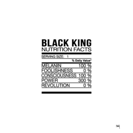 Black King Nutrition Facts