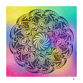 Mandala Night Sky Mystery